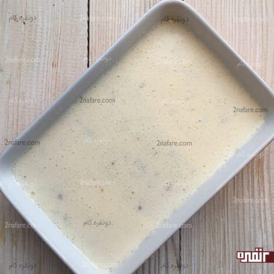 ریختن مایع در ظرف