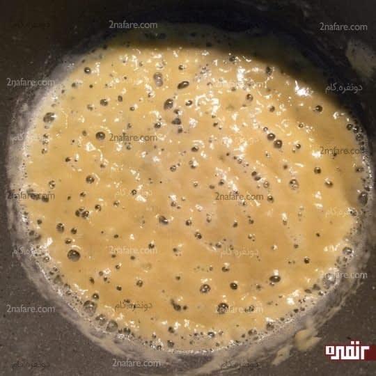 سرخ کردن آرد