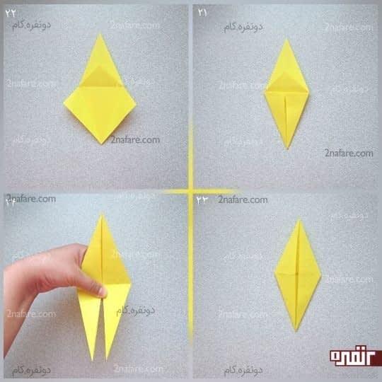 لوزیی که درست شده از یک طرف بسته است، و از یک طرف باز است