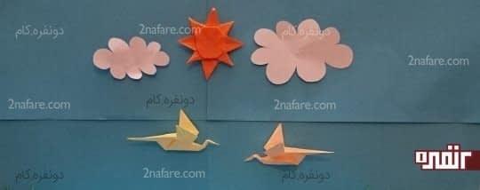 لک لک ها در حال پرواز