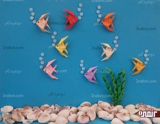 ماهی ها در آکواریوم