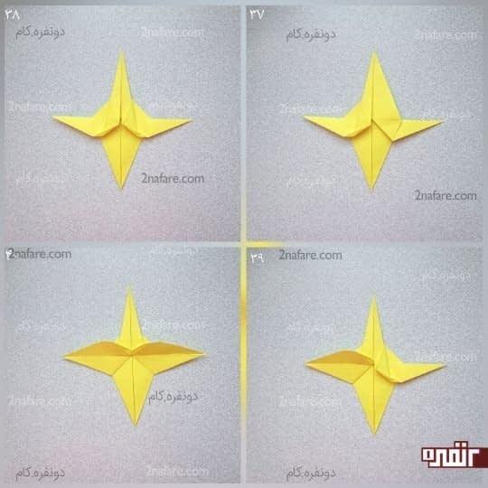 مثلث سمت چپ و راست کار را باز کنید