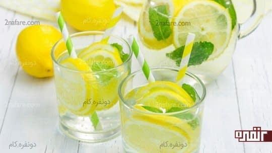 معایب استفاده از نوشیدنی آب و لیمو بصورت ناشتا