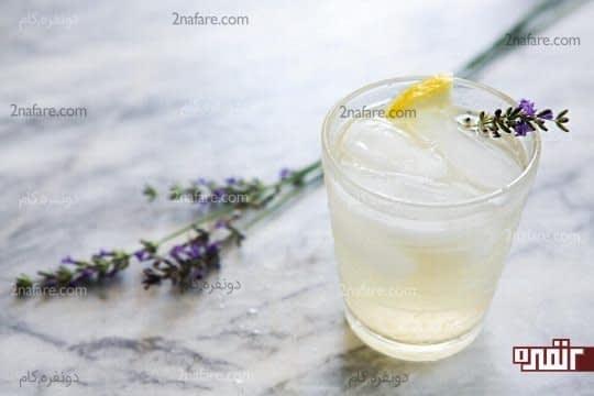 نوشیدنی های خنک برای پایین آوردن دمای بدن