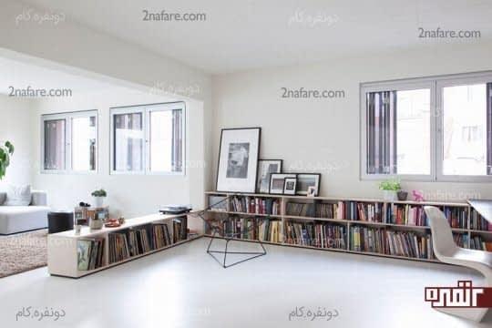 هارمونی بین رنگ های دیوار و سقف
