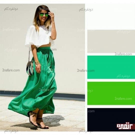 ترکیب با سبز