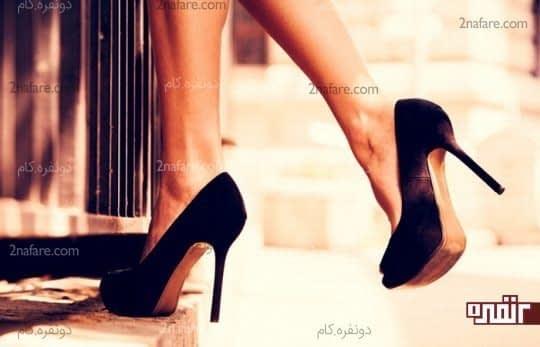 کفش پاشنه بلند جلو بسته، متناسب با هر سبک و سلیقه ای