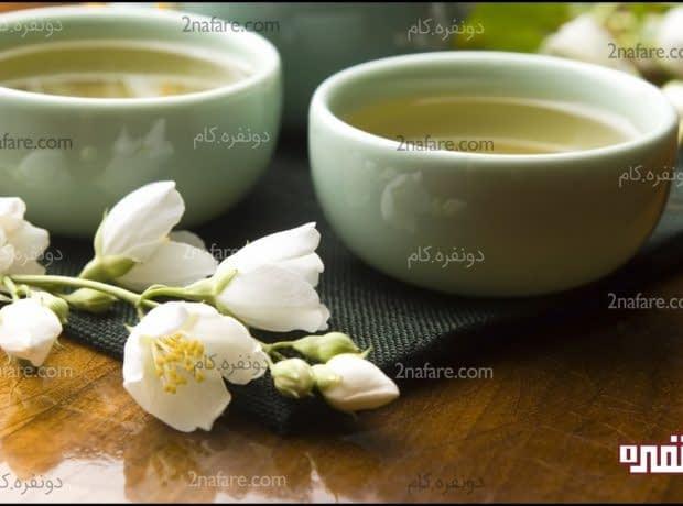 چای یاسمن و پاکسازی پوست از چربی ها و جوش ها
