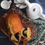 طرز تهیه کیک کره ای دو رنگ مرحله به مرحله