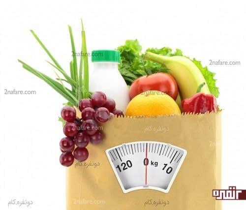 برنامه ریزی و تهیه مواد غذایی سالم