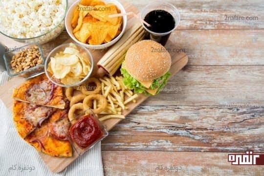 حذف غذاهای فرآوری شده