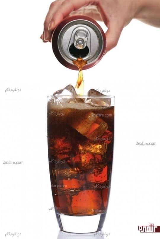 اجتناب از نوشیدنی های پرکالری