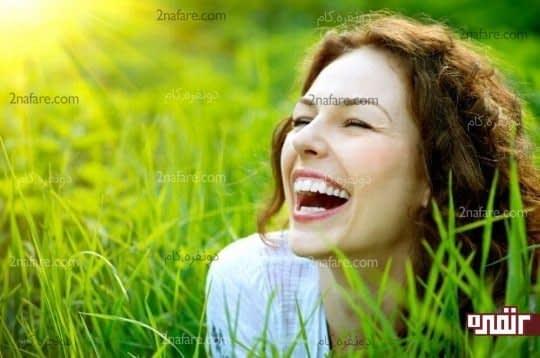 خنده بیشتر قلب سالمتر