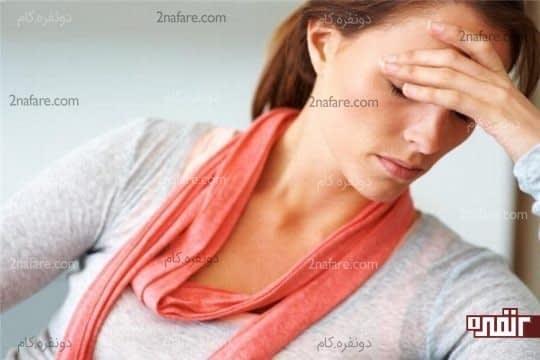 بیحالی و خستگی ناشی از کمبود آب در بدن