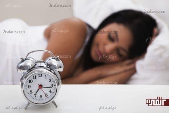 تنظیم برنامه خواب