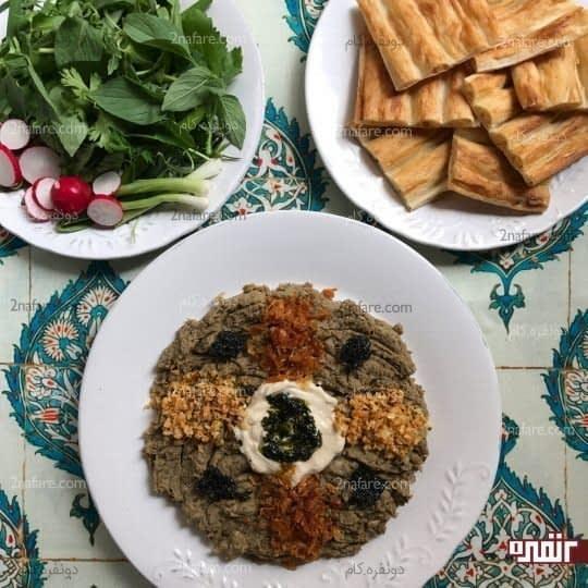 حلیم بادمجان سالم مخصوص ماه رمضان
