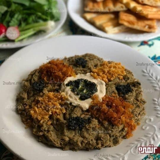 حلیم با دمجان سالم مخصوص ماه رمضان