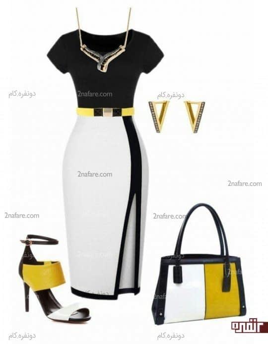 زرد و سفید