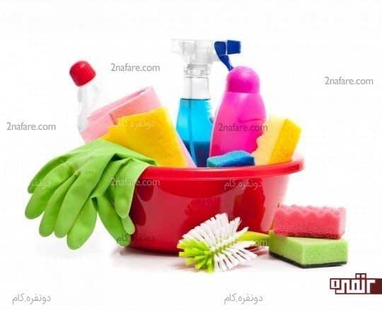 سعی کنید به طور منظم آشپزخانه را تمیز کنید