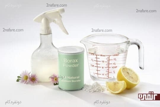 ضدعفونی کننده های طبیعی را جایگزین مواد شیمیایی کنید