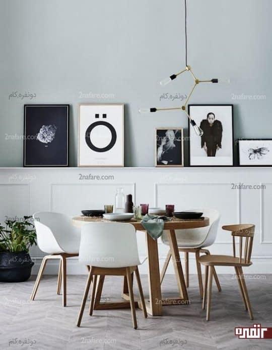 قراردادن عکسها و تصاویر مورد علاقه در سایزهای مختلف در کنار هم