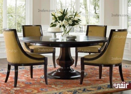 میز غذاخوری فضایی برای دورهمی های روزانه