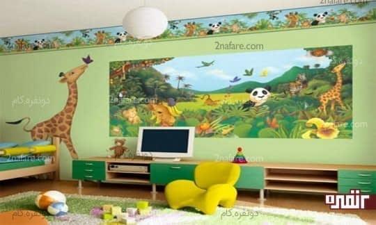 نقاشی بر روی دیوار