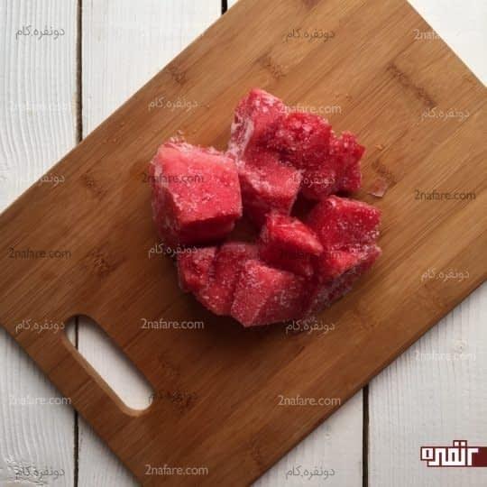 هندوانه یخ زده