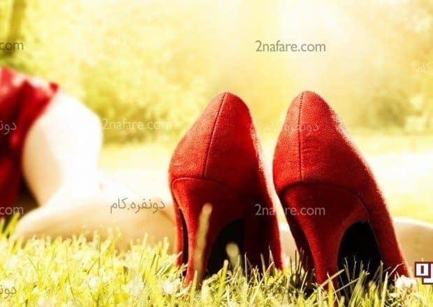 چطور میشه با کفش های پاشنه بلند راه رفت؟