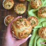 طرز تهیه کاپ کیک باقلوا مخصوص ماه رمضان