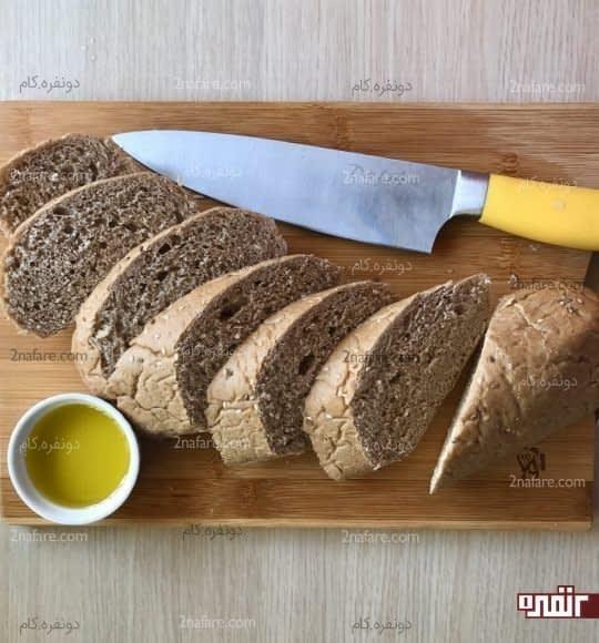 برش زدن نان ها