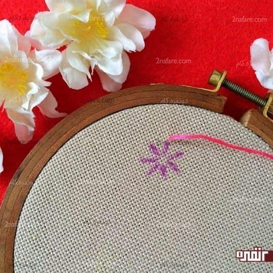 دوخت گلبرگها