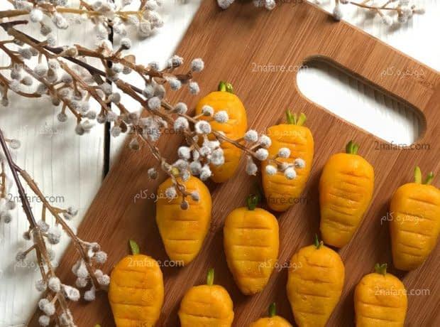 تر حلوای هویج