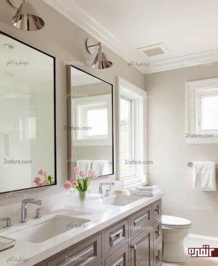 آینه با انعکاس نور فضا را بزرگتر نشان میدهد