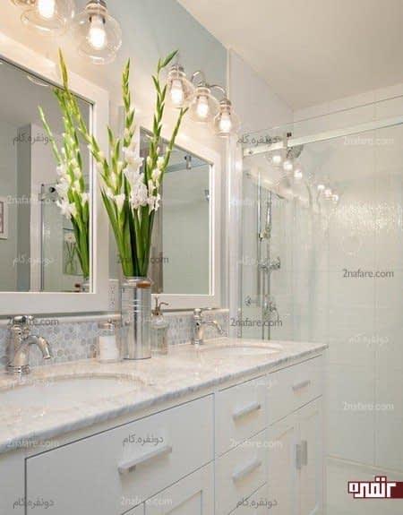 ایجاد روشنایی کافی در فضای حمام
