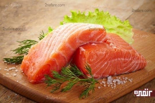 با مصرف منظم ماهی، موهایی درخشان داشته باشید