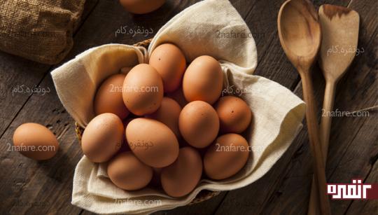 برای رشد موهایتان تخم مرغ بخورید