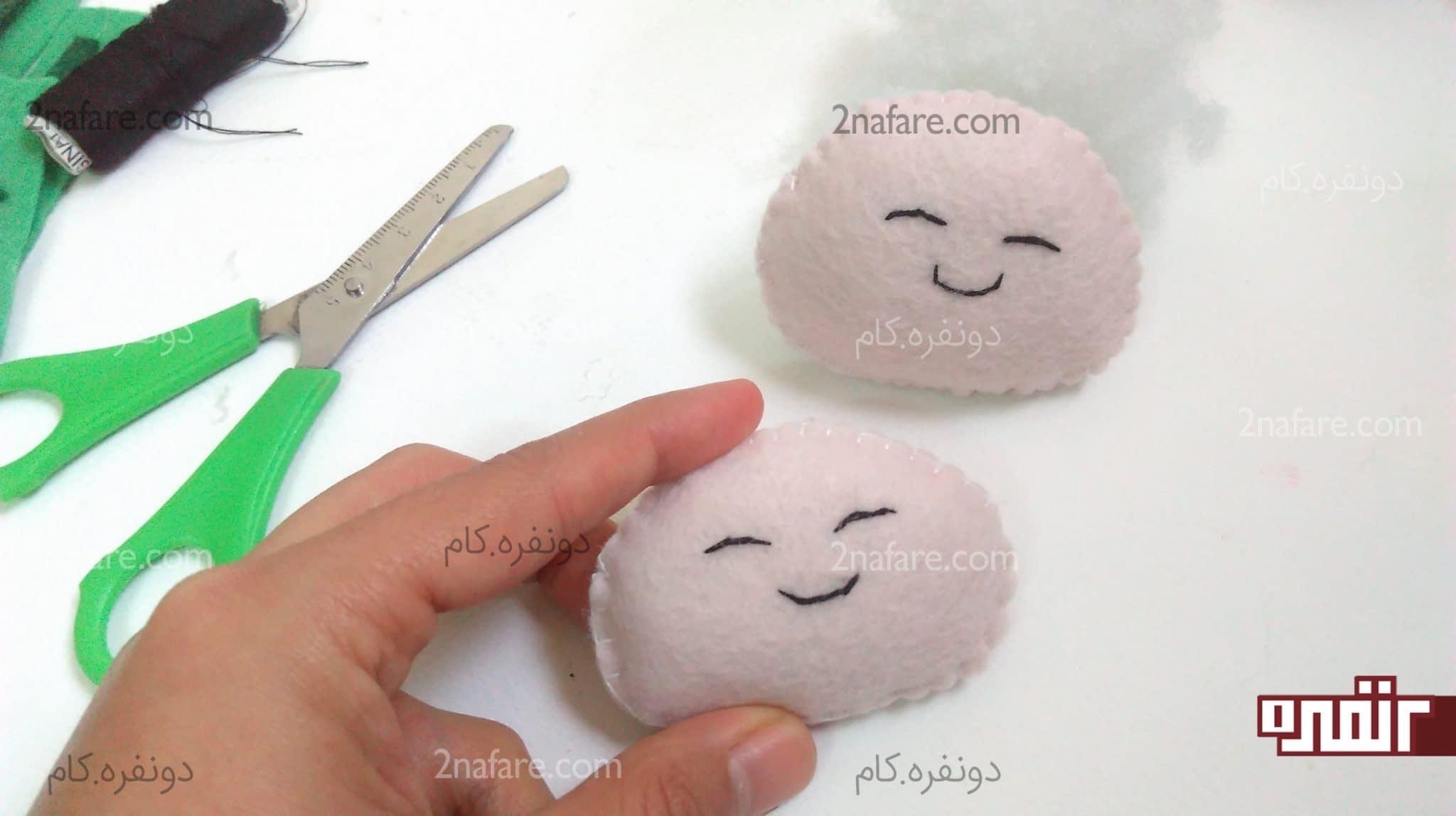 الگو دندون آموزش ساخت عروسک نمدی دختر و پسر مرحله به مرحله • دونفره