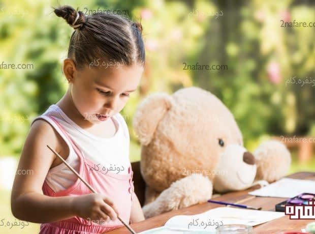 دوست های خیالی و افزایش خلاقیت بچه ها