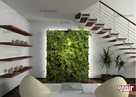 دیوار سبز بعنوان فیلتر هوا