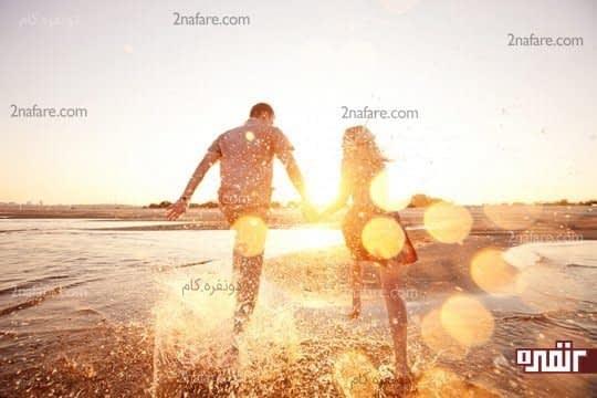 زندگی دونفره یعنی شما و همسرتون منهای جهان