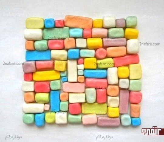 ساخت لگوهای خانه سازی رنگارنگ در منزل