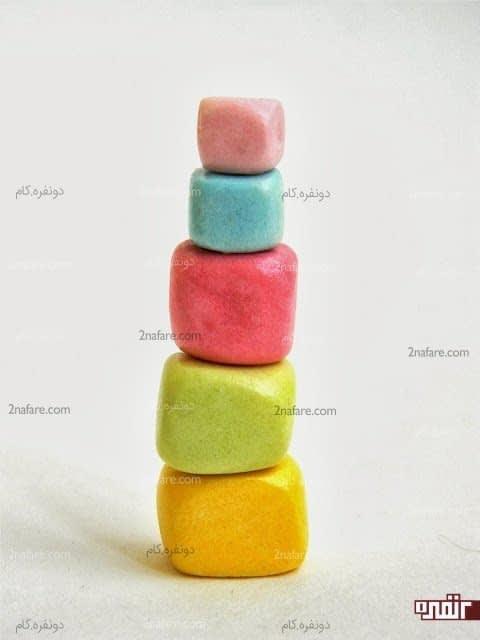 لگوهای رنگارنگ و زیبا برای بازی کودکان