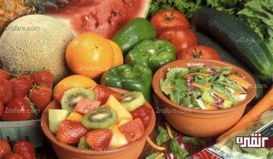 میوه های آبدار