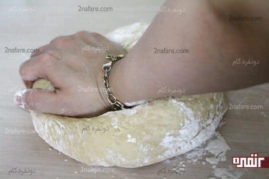 ورز داد خمیر