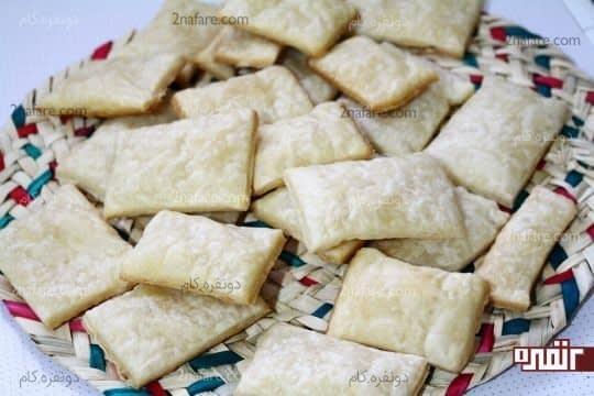 ورقه های پخته شده خمیر میل فوی