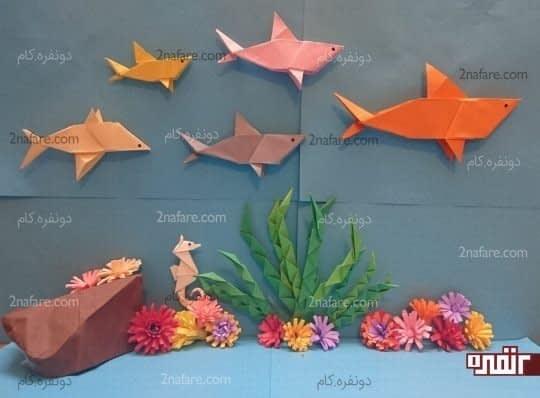 کوسه های اوریگامی