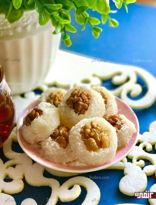 طرز تهیه ی شیرینی باسلوق