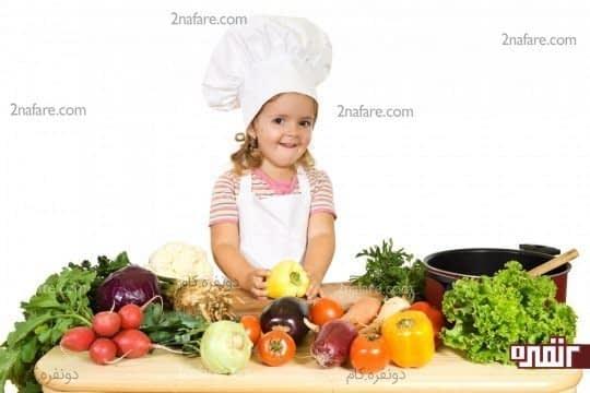 ارتباط بین تغذیه مناسب و افزایش قد کودکان