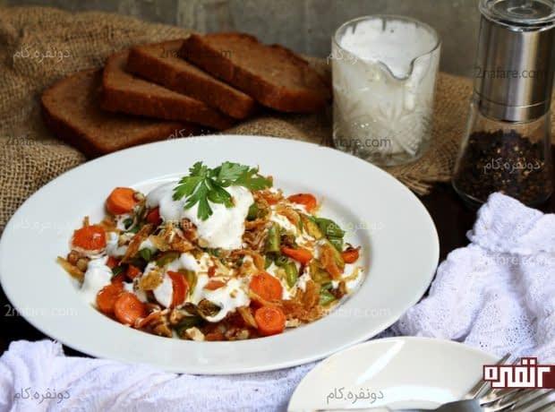 اردور سبزیجات گرم 2